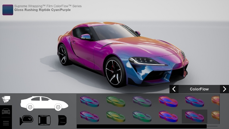 Avery Dennison Launches Car Wrap Visualizer