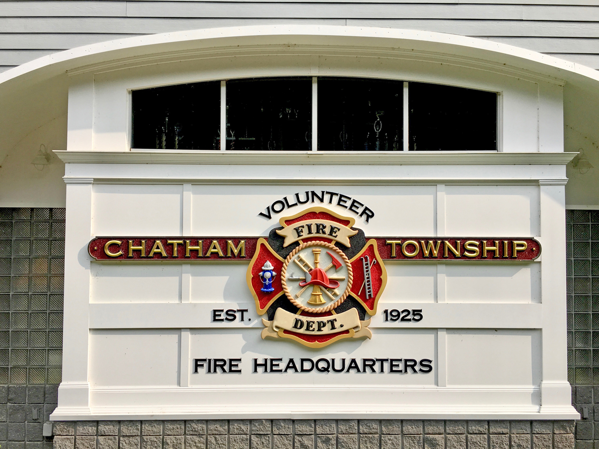 The Great American Sign Company Inc. tied for second with this sign for the Chatham Twp Volunteer Fire Dept.