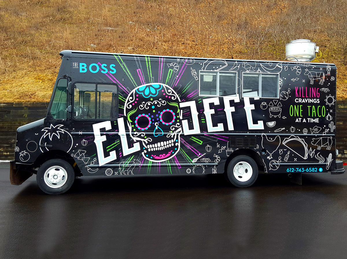 2017 Vehicle Graphics Contest Best Food Trucks