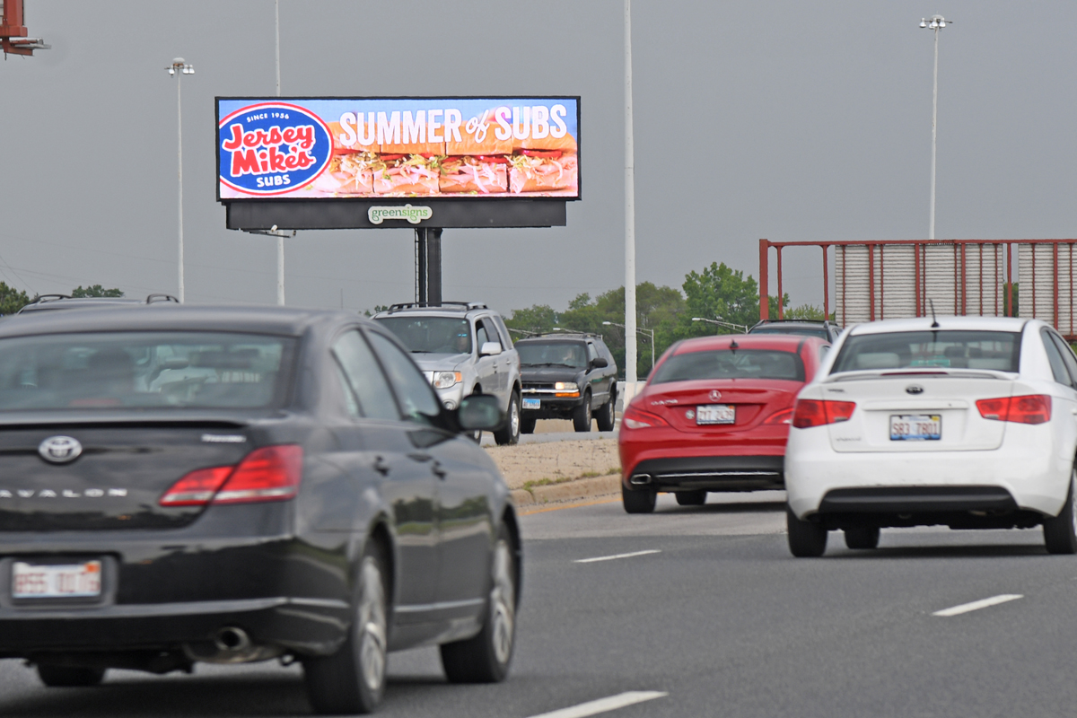 Digital GreenSigns LLC purchases renewable energy credits for its billboards through an Illinois electric utility.