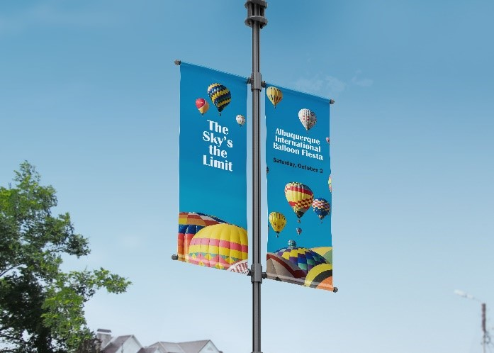 HP 18-oz. Prime Double-sided Pole Banner