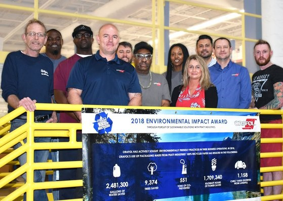 ORAFOL Americas Receives 2018 Environmental Impact Award