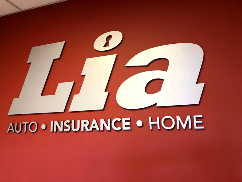 Infamous Graphics constructed exterior and interior signs for Lia Toyota of Colonie, NY.