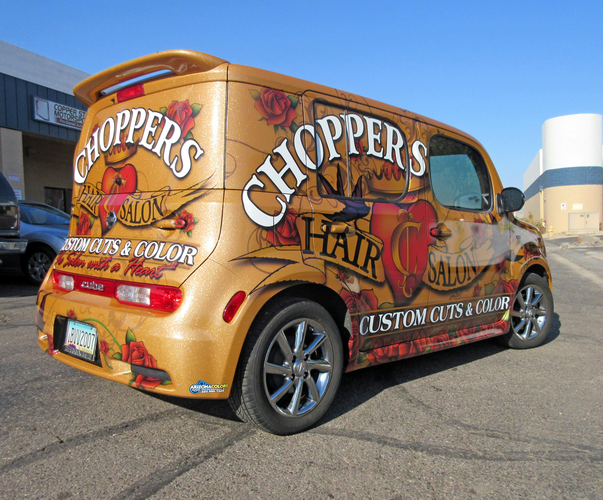 2017 Vehicle Graphics Contest Best Promotional Vehicles